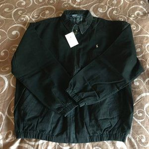 Men's Ralph Lauren Black Coach Jacket
